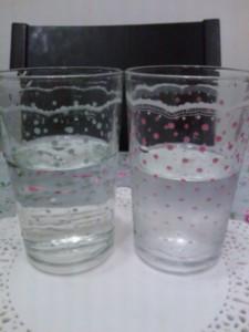 アクアクララと水道水を比較