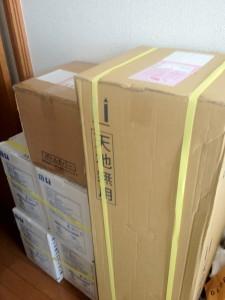 クリティアの箱の大きさがわかる写真