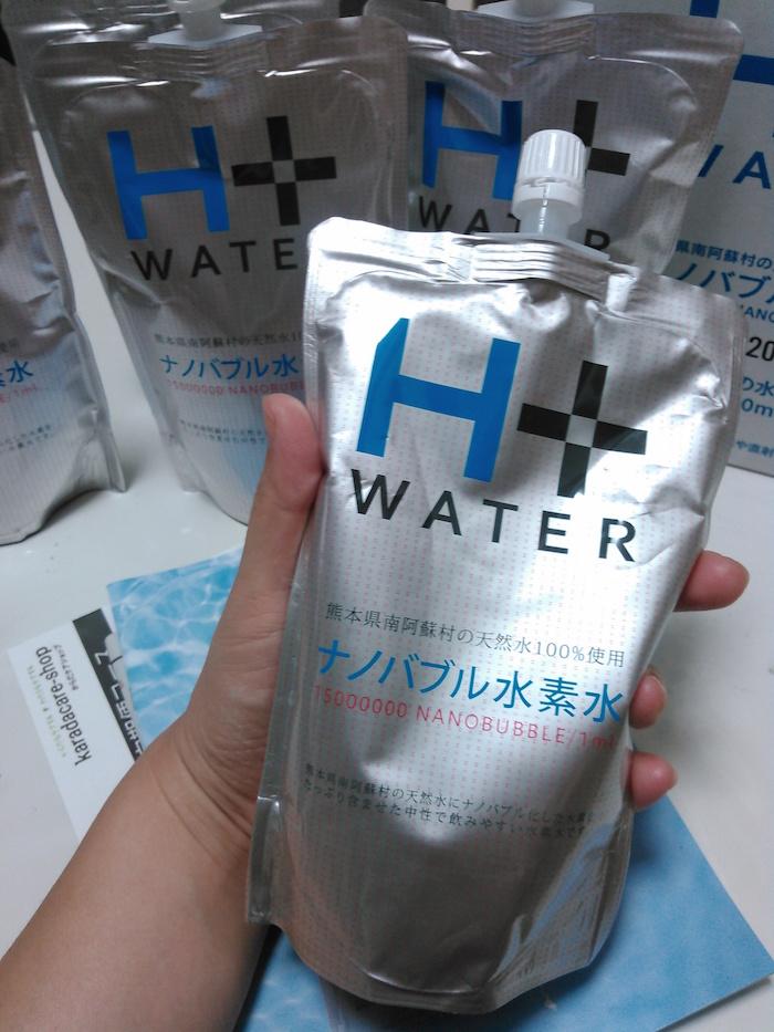 ナノバブル水素水